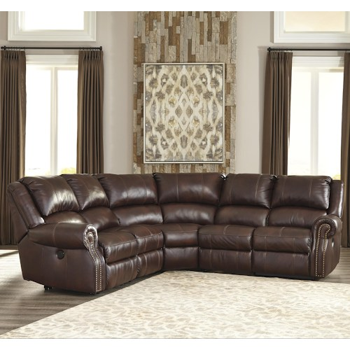 Collinsville 5-Piece Reclining Sectional w 2 Armless Recliners by Signature Design by Ashley.jpg